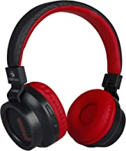 Zebronics Zeb-Bang Bluetooth Headphone with Voice Assistant (Red)