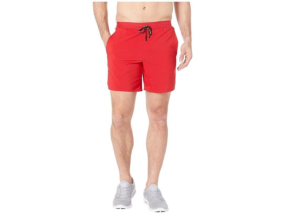 Nike Flex Stride Shorts 7 BF (Gym Red/Metallic Silver) Men