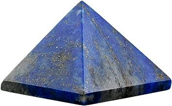 rockcloud Healing Crystal Lapis Lazuli Pyramid Metaphysical Stone Figurine