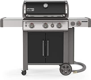 Weber 66016001 Genesis II E-335 3-Burner Natural Gas Grill, Black
