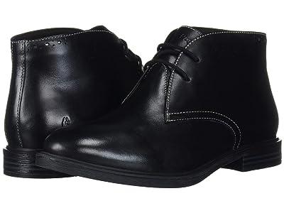 Hush Puppies Bailey Chukka Boot (Black Leather) Women