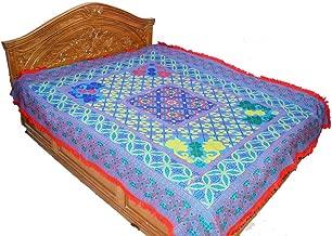 Nakshi Kantha Kantha Quilt, King Size Kantha Quilt, Kantha Blanket, Bed Cover, King Kantha Bedspread, Nakshi Katha, Bedding Kantha Size 90 Inch x 102 Inch