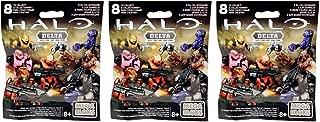 Mega Bloks Halo Delta Series Surprise Blind Bag Mystery Packs (3 Packs)