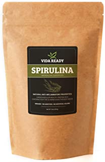 Spirulina (Algae Superfood) - 1 lb Resealable Pouch