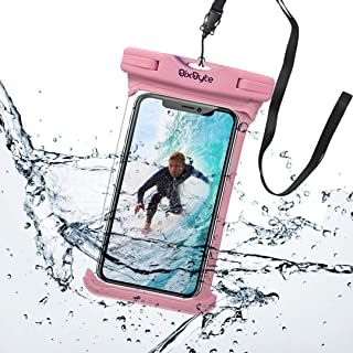 BixByte Waterproof Phone Pouch, Floating phone Case Dry Bag. Compatible with all Smartphones: iPhone 11/11 Pro, iPhone X X...