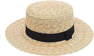 Women Wide Brim Straw Hat Fashion Chapeau Paille Summer Lady Sun Hats Boater Wheat Panama Beach Hats
