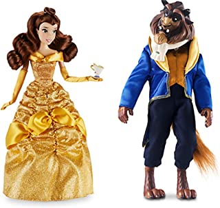 NEW 2016 Disney Store Princess Belle with Chip and Beast Classic Doll Set ~ Beauty & the Beast