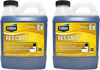 ResCare RK64N All-Purpose Water Softener Cleaner Liquid Refill, 64 Ounce 2 Pack