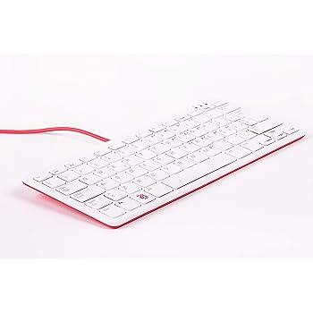 Tastiera e mouse ufficiali Raspberry Pi Maus schwarz