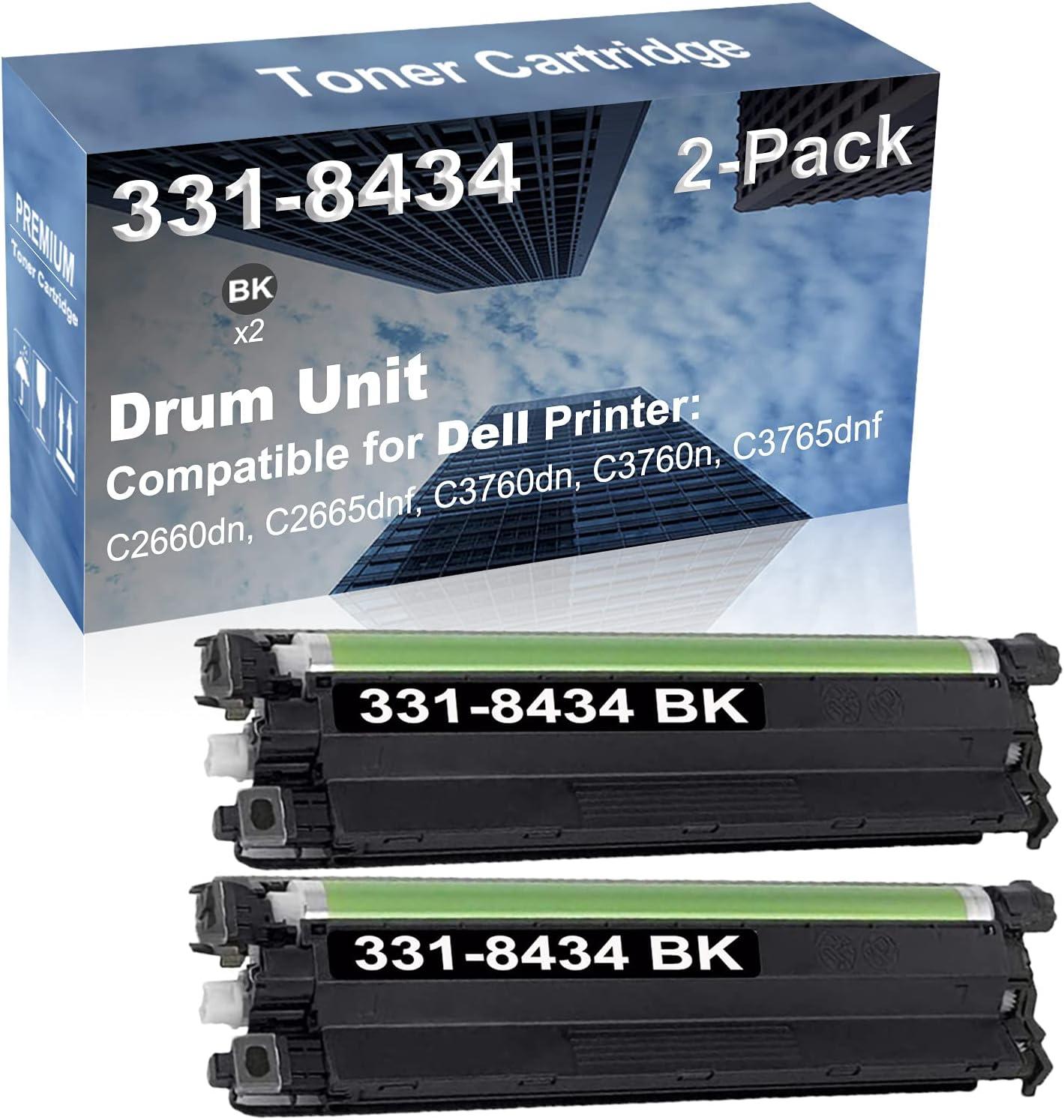 2-Pack Black Compatible C2660dn C3760n Seattle Mall C3 C2665dnf Cheap sale C3760dn