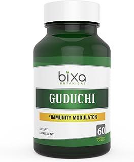 Guduchi Extract Bitters 2.5% Veg Capsule 60 Count (450mg) (Tinospora Cordifolia/Giloy)   Herbal Supplement for Sugar Contr...