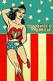 Trends International DC Comics - Wonder Woman - Vintage Wall Poster, 22.375