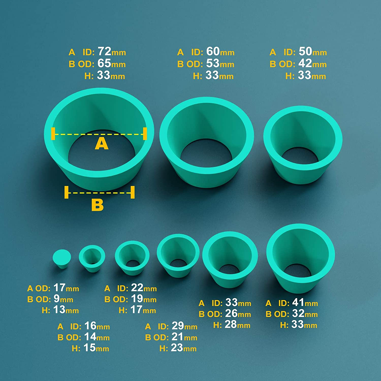 Glassware & Labware Industrial & Scientific Ks-Tek Rubber Silicone ...