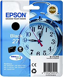 Epson 235M139 Väckarklocka No.27 Seriens Bläckpatron, Standard, Cyan