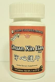 Chuan Xin Lian Pian 100 tabs- Plum Flower