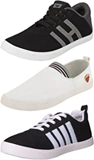 Ethics Perfect Combo Pack of 3 Stylish Casual Sneaker Shoes for Men