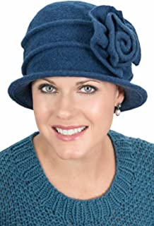 c7cda3a5d6266 Headcovers Unlimited Kendra Cloche Hat - Wool Winter Hats for Women - Cancer  Chemo Hats