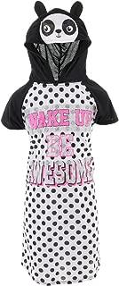 Sweet n Sassy Big Girls White Pink Peachy Print 3 Pc Cami Bra Set 7-16