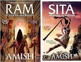 Westland Novel Combo Set-Ram - Scion of Ikshvaku (Book 1 - Ram Chandra Series) + Sita - Warrior of Mithila (Book 2- Ram Chandra Series)