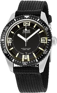Oris - Divers Sixty-Five Reloj para hombre con esfera negra 733-7707-4064BKFS