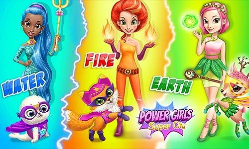 『Power Girls Super City – Superhero Salon, Miraculous Pets & Monster Rescue』の4枚目の画像