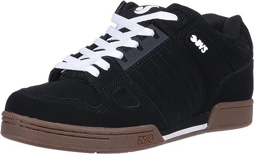Chaussure DVS Jason Anderson Celsius - Signature Series Noir Blanc cuir (EU 40.5   US 7.5, Noir)