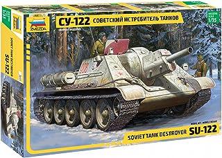 Zvezda Model Kit 3691 Soviet Tank Destroyer SU-122