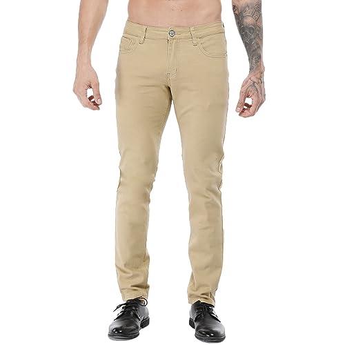 a9f4f8d14a6 ZLZ Men s Slim Fit Stretch Comfy Fashion Denim Jeans Pants