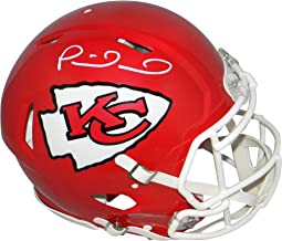 Patrick Mahomes Autographed Kansas City Chiefs Super Bowl LIV Full Size Authentic Speed Helmet - JSA Witness