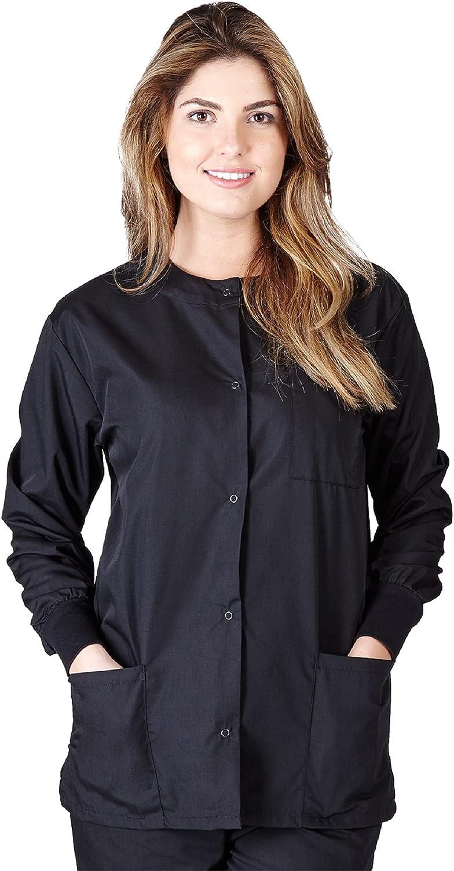 MM SCRUBS High quality Women's Jacket Max 56% OFF Scrub