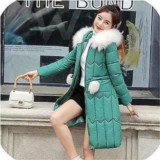Surprise S Winter Women Long Parkas Jackets Thick Warm Big Collarsintepon Parkas Outwear Coat