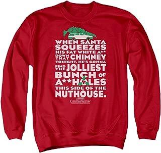 Christmas Vacation Jolliest Bunch Unisex Adult Crewneck Sweatshirt for Men and Women