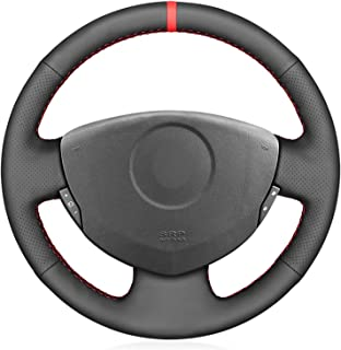 XQRYUB Housses de Volant de Voiture en Cuir adapt/ées pour Renault Twingo 3 2014-2019