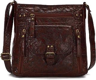 KL928 Tasche Damen Umhängetasche kleine Handtaschen Schultertasche Leder Geldbörse Damentasche Damenhandtasche Lederhandta...