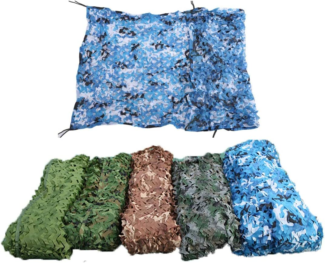 Camo Netting Product Bulk Roll Camouflage Net - with Military Ranking TOP3 Blue Grid