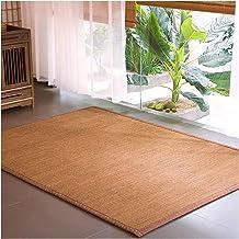 Bamboo Rug Carpet Pad Non-slip Traditional Multifunction 1.2cm Floor Sleeping Mats for Living Room Bedroom Carpet, 2 Color...