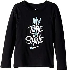 NSW My Time To Shine Long Sleeve Tee (Little Kids/Big Kids)