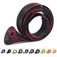 ZHENDUO OUTDOOR 10Pcs/Set Rod Sock Fishing Rod Sleeve Rod Cover Braided Mesh Rod Protector Pole...