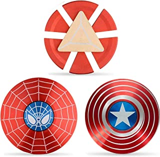 Superhero Fidget Spinners Metal, Fidget Spinner Gifts for Adults and Kids,Anti Stress Anxiety ADHD Relief Figets Toy, Fing...