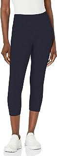 Lyssé Women's Flattering Cotton Crop Legging