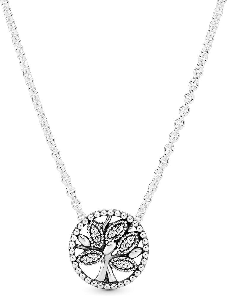 Pandora collana con ciondolo in argento donna 397780CZ-45