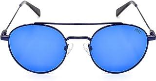 MS7071 C3 Size 50 نظارة شمسية للجنسين دائري لون أزرق