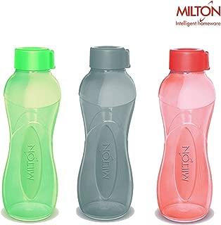 MILTON I Go 1000 Polypropylene Bottle Set 1 Litre 3-Pieces Multicolour