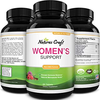 Menopause Supplements for Women Weight Loss - Natural Hormone Balance for Women Weight Loss Adrenal Support and Menopause ...
