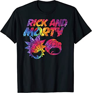 x Rick and Morty - Tie Dye Drip Graphic T-Shirt