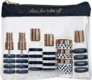 Miamica Women's TSA Compliant Travel Bottles