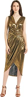 Best metallic 70s dress Reviews