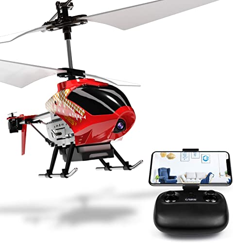 wholesale Cheerwing wholesale U12S Mini RC high quality Helicopter with Camera Remote Control Helicopter for Kids and Adults (Red) outlet online sale