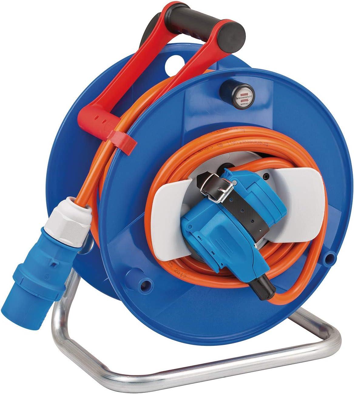 Brennenstuhl 1182450 Garant G CEE Enrouleur de câble pour camping/plaisance IP44, Multicolore