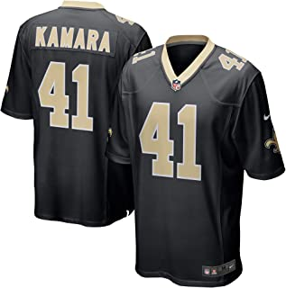 NIKE Alvin Kamara New Orleans Saints Black Men's Game Day Jersey XX-Large